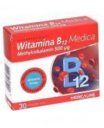 MEDICALINE Witamina B12 Medica - 30 kaps. - Apteka internetowa Melissa