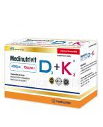 MEDINUTRIVIT D3 + K2 - 60 kaps. - Apteka internetowa Melissa