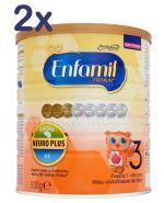 ENFAMIL 3 PREMIUM powyżej 1 roku Mleko modyfikowane - 2 x 800 g + Teczka na dokumenty dziecka GRATIS ! - Apteka internetowa Melissa