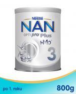 NESTLE NAN OPTIPRO PLUS 3 Mleko modyfikowane w proszku po 1 roku  - 800 g (puszka)