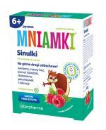MNIAMKI Sinulki o smaku malinowym - 60 past.