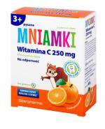 MNIAMKI Witamina C 250 mg o smaku pomarańczowym - 60 past. - Apteka internetowa Melissa