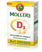 MOLLERS D3 - 28 kaps. + 28 tabl. - Apteka internetowa Melissa
