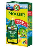 MOLLERS Tran norweski o aromacie cytrynowym - 250 ml + PIÓRNIK w prezencie - Apteka internetowa Melissa