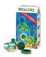 MOLLERS Tran norweski o aromacie owocowym - 250 ml + Stempelek w prezencie  Data ważności: 2018.08.31 - Apteka internetowa Melissa