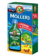 MOLLERS Tran norweski o aromacie owocowym - 250 ml + PIÓRNIK w prezencie - Apteka internetowa Melissa