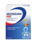 MUCOSOLVAN MAX 75 mg kapsułki na kaszel bez recepty - 20 szt.