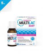 MULTILAC BABY Synbiotyk krople - 5 ml