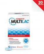 MULTILAC Synbiotyk - 20 kaps. - flora jelitowa - cena, opinie, wskazania