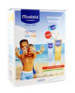 MUSTELA Zestaw Rodzinne Wakacje - Spray przeciwsłoneczny + Spray po opalaniu - 200 ml + 125 ml - Apteka internetowa Melissa