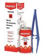 MUSTICO TICK-OFF Spray do usuwania kleszczy 2w1 - 8 ml - Apteka internetowa Melissa