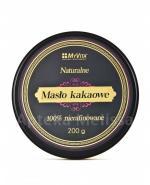 MYVITA Masło kakaowe 100% nierafinowane - 200 g - Apteka internetowa Melissa
