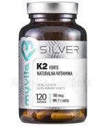 MYVITA SILVER Naturalna witamina K2 FORTE - 120 kaps. - Apteka internetowa Melissa