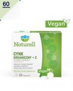 NATURELL Cynk organiczny + C - 60 tabl. - Apteka internetowa Melissa