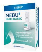 NEBU HIALURONIC 0,1% Roztwór do inhalacji - 30 x 5 ml - Apteka internetowa Melissa