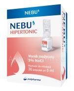 NEBU HIPERTONIC 3% Roztwór do inhalacji - 30 x 5 ml - Apteka internetowa Melissa