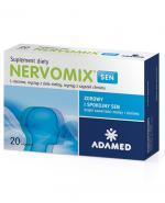 NERVOMIX SEN - 20 kaps. Na problemy ze snem w okresach zwiększonego napięcia.
