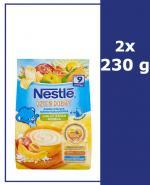 NESTLE DZIEŃ DOBRY Kaszka mleczna ryżowo-kukurydziana banan, jabłko, morela po 9 m-cu - 2 x 230 g - Apteka internetowa Melissa