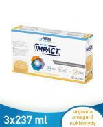 NESTLE IMPACT ORAL Smak waniliowy - 3x237 ml - preparat odżywczy w płynie - cena, opinie, wskazania