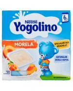 NESTLE JOGOLINO Deserek mleczno-owocowy o smaku morelowym - 4x100 g - Apteka internetowa Melissa