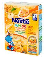 NESTLE JUNIOR Kaszka mleczna 5 zbóż z żółtymi owocami - 250 g + BOBO FRUT Sok pomidor, winogrona i marchew po 6 m-cu - 300 ml GRATIS !  - Apteka internetowa Melissa