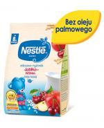 NESTLE Kaszka mleczno-ryżowa jabłko-wiśnia po 8 m-cu - 230 g + Nestle łyżeczka  - Apteka internetowa Melissa