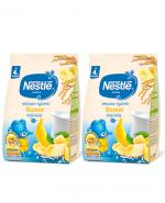 NESTLE Kaszka mleczno-ryżowa banan, po 4 miesiącu - 2 x 230 g - Apteka internetowa Melissa