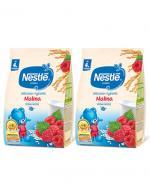 NESTLE Kaszka mleczno-ryżowa malina, po 4 miesiącu - 2 x 230 g - Apteka internetowa Melissa