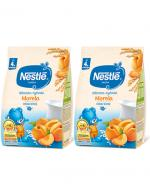 NESTLE Kaszka mleczno-ryżowa morela, po 4 miesiącu - 2 x 230 g - Apteka internetowa Melissa