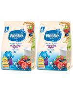 NESTLE Kaszka mleczno-ryżowa truskawka-jagoda po 6 m-cu - 2 x 230 g - Apteka internetowa Melissa
