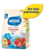 NESTLE Kaszka mleczno-ryżowa truskawka, po 6 miesiącu - 230 g  - Apteka internetowa Melissa