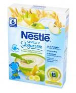 NESTLE Kaszka z jogurtem mleczno-pszenna banan jabłko gruszka po 6 m-cu - 250 g - Apteka internetowa Melissa