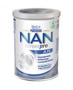 NESTLE NAN EXPERT AR Mleko modyfikowane przeciw ulewaniom dla niemowląt - 400 g - Apteka internetowa Melissa
