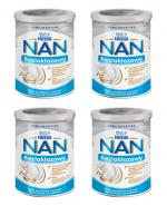 Nestle NAN EXPERT Bezlaktozowy mleko początkowe dla niemowląt od urodzenia - 4 x 400 g - cena, opinie, właściwości