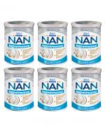 Nestle NAN EXPERT Bezlaktozowy mleko początkowe dla niemowląt od urodzenia - 6 x 400 g - cena, opinie, właściwości
