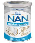 Nestle NAN EXPERT Bezlaktozowy mleko początkowe dla niemowląt od urodzenia - 400 g - cena, opinie, właściwości