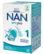 NESTLE NAN OPTIPRO 1 Mleko początkowe w proszku dla niemowląt - 800 g  - Apteka internetowa Melissa