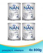 NESTLE NAN OPTIPRO PLUS 2 Mleko modyfikowane w proszku po 6 miesiącu - 4 x 800 g (puszka) - Apteka internetowa Melissa