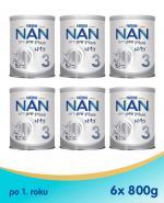 Nestle NAN OPTIPRO Plus 3 Mleko modyfikowane junior dla dzieci po 1. roku - 6 x 800 g (puszka)