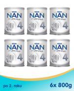 Nestle NAN OPTIPRO Plus 4 Mleko modyfikowane junior dla dzieci po 2 roku - 6 x 800 g
