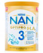 NESTLE NAN OPTIPRO HA 3 Mleko modyfikowane w proszku po 1 roku hypoalergiczne - 400 g - Apteka internetowa Melissa