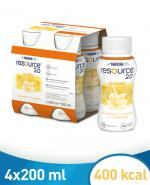 RESOURCE 2.0 Smak waniliowy - 4 x 200 ml
