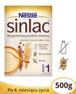 NESTLE SINLAC Bezglutenowy produkt zbożowy po 4 miesiącu - 500 g - Apteka internetowa Melissa