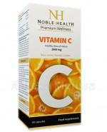 NOBLE HEALTH Witamina C 1000 mg - 60 kaps. - Apteka internetowa Melissa