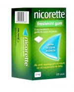 NICORETTE Freshmint 2 mg - 105 szt. Na rzucanie palenia - cena, opinie, właściwości
