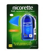 NICORETTE Fruit 4 mg - 20 tabl. - Apteka internetowa Melissa