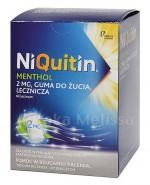 NIQUITIN MENTHOL Guma do żucia 2 mg - 100 szt. - Apteka internetowa Melissa