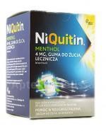 NIQUITIN MENTHOL Guma do żucia 4 mg - 100 szt. - Apteka internetowa Melissa