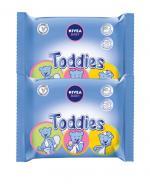 NIVEA BABY TODDIES Chusteczki dla niemowląt - 2x 60 szt. - Apteka internetowa Melissa
