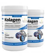 NOBLE HEALTH  Kolagen w proszku + glukozamina i witamina C - 2 x 100g - Apteka internetowa Melissa